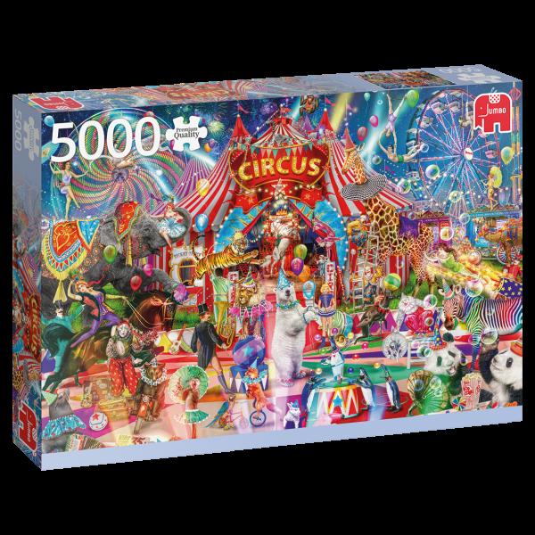 Premium Collection – Eine Nacht im Zirkus (5000 Teile)