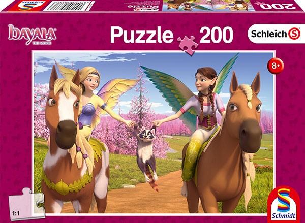 Puzzle: Unterwegs zum Drachenberg, 200 Teile