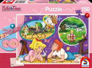 Puzzle: Freundinnnen für immer + Slap-Snap-Band,150 Teile