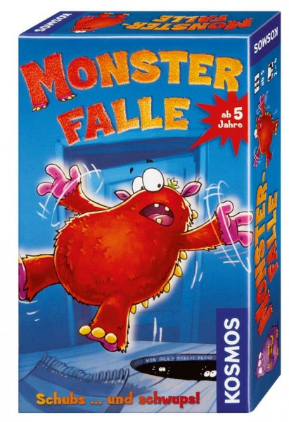 Monsterfalle Mitbringspiel Schubs ... und schwups!