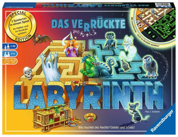 Das verrückte Labyrinth Glow in the Dark