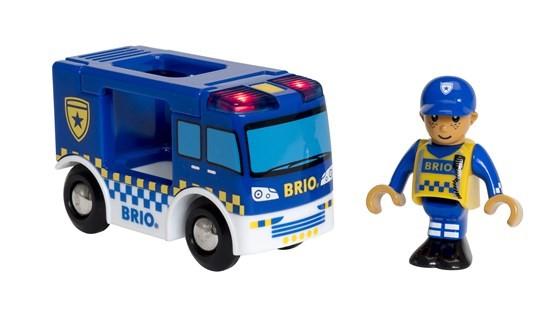 Brio Polizeiwagen Mit Licht U