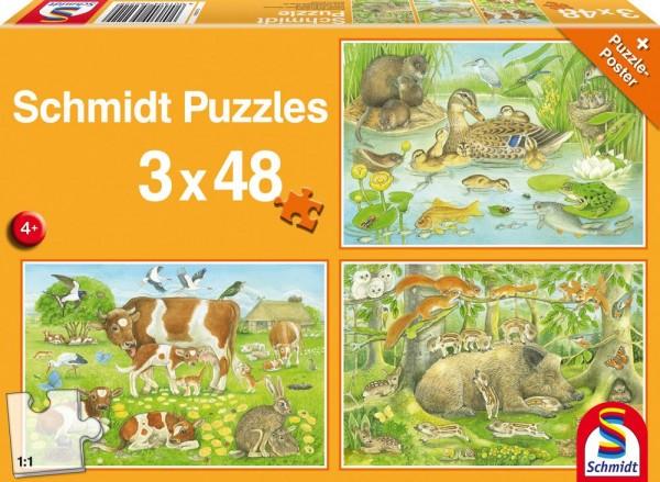 Pz. Tierfamilien 3x48t