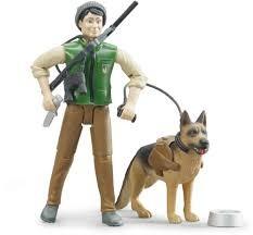 Bruder 62660 bworld Foerster mit Hund und