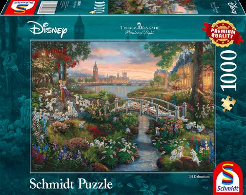 Puzzle: Disney 101 Dalmatiner, 1000 Teile