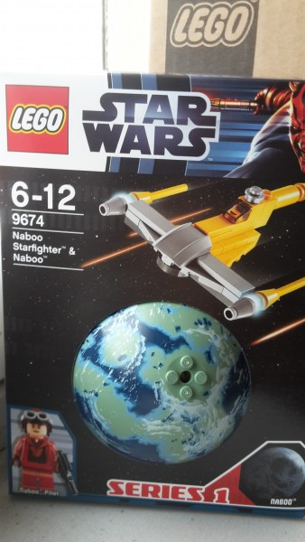 Lego 9674 Sw-Naboo Starfighter & Naboo