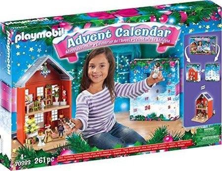 PLAYMOBIL Großer Adventskalender 70383 Weihnachten im Stadthaus