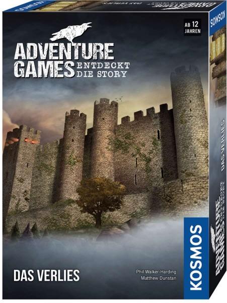 Adventure Games - Das Verlies Entdeckt die Story Spiel