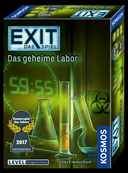 EXIT - Das Spiel: Das geheime Labor Spiel