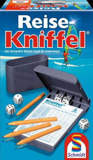 Kniffel-Reise mit Zusatzblock