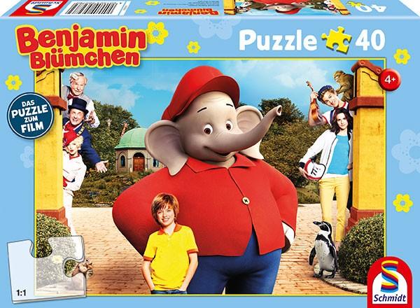 Puzzle: zum Film, Benjamin Blümchen - Der Kinofilm. 40 Teile