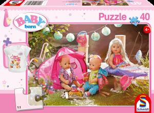 Puzzle: Komm, wir zelten! 40 Teile