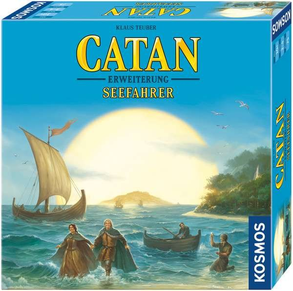 CATAN - Erweiterung - Seefahrer Spiel