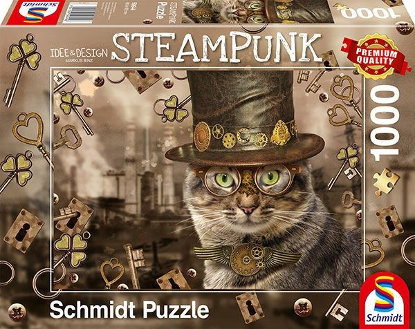 Pz. Steampunk Katze 1000 T.