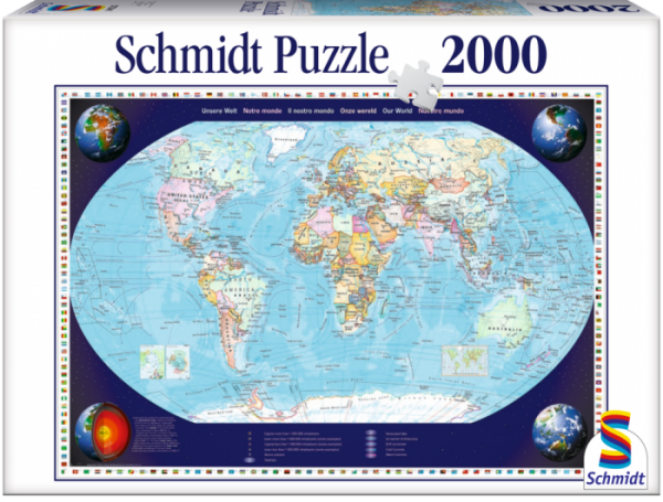 Puzzle: Unsere Welt 2000 Teile