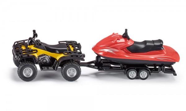 Siku 2314 Quad mit Anhänger und Jet-Ski