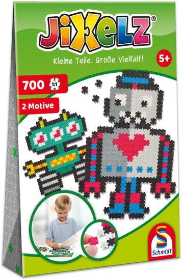 Jixelz Roboter 700 Teile