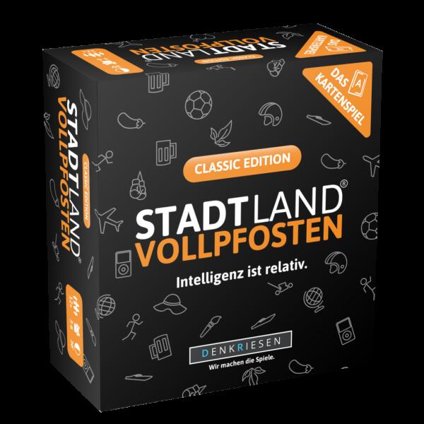DENKRIESEN SL3001 STADT LAND VOLLPFOSTEN: Das Kartenspiel – Classic Edition