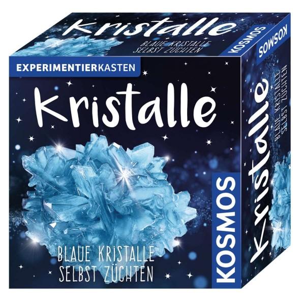 Kristalle blau Experimentierkasten