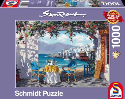 Puzzle: Rendezvous auf Mykonos, 1000 Teile