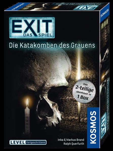EXIT - Das Spiel - Die Katakomben des Grauens Das zweiteilige Abenteuer