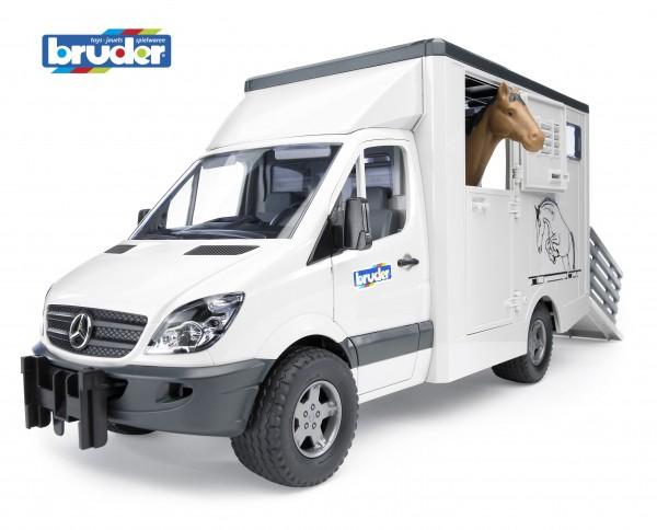 Bruder 02533 Mercedes Benz Sprinter Tiertransporter
