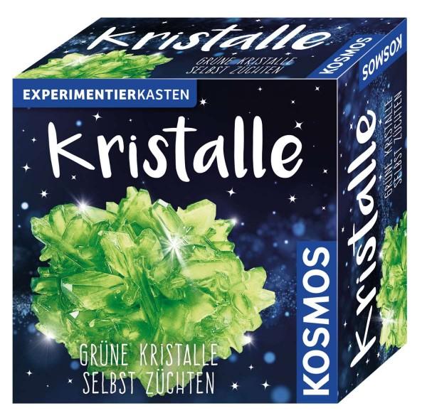 Kristalle grün Experimentierkasten