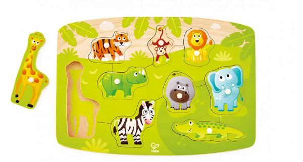 Dschungelpuzzle