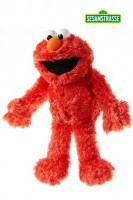 Elmo Handpuppe ca. 33-37 cm
