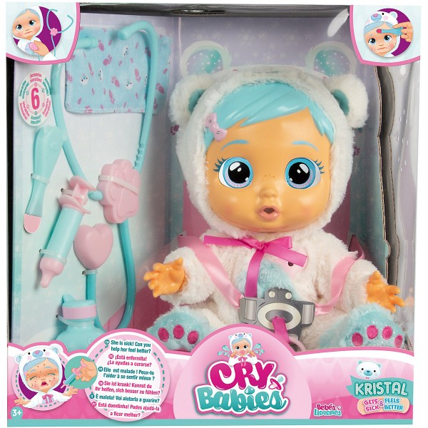 IMC Toys, 98206IMI, Cry Babies Kristal wird gesund