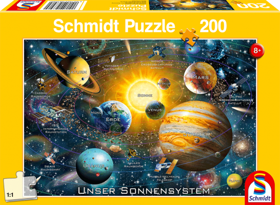 Puzzle: Unser Sonnensystem, 150 Teile