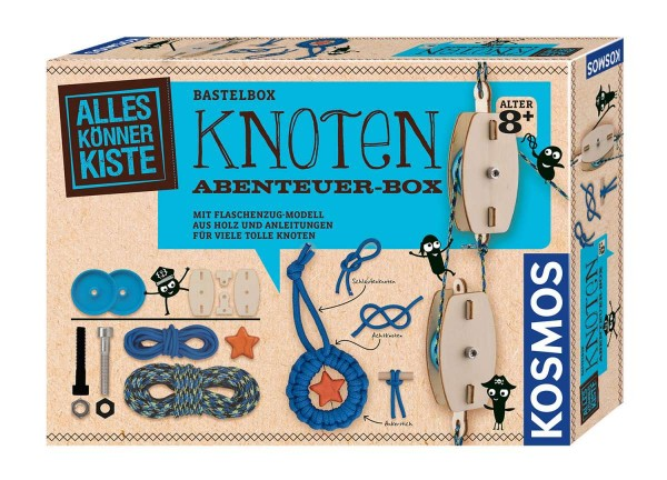 Knoten-Abenteuerbox AllesKönnerKiste