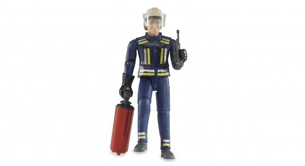 Bruder 60100 Feuerwehrmann mit Zubehör