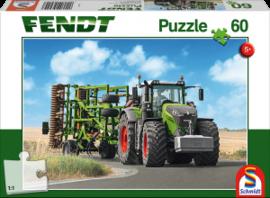 Puzzle: Fendt 1050 Vario mit Amazone Grubber Cenius, 60 Teile