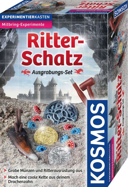 Ritter-Schatz Ausgrabungs-Set
