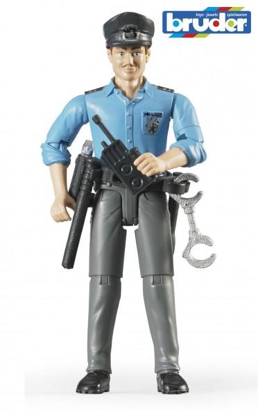 Bruder 60050 Polizist mit hellem Hauttyp und Zubehör