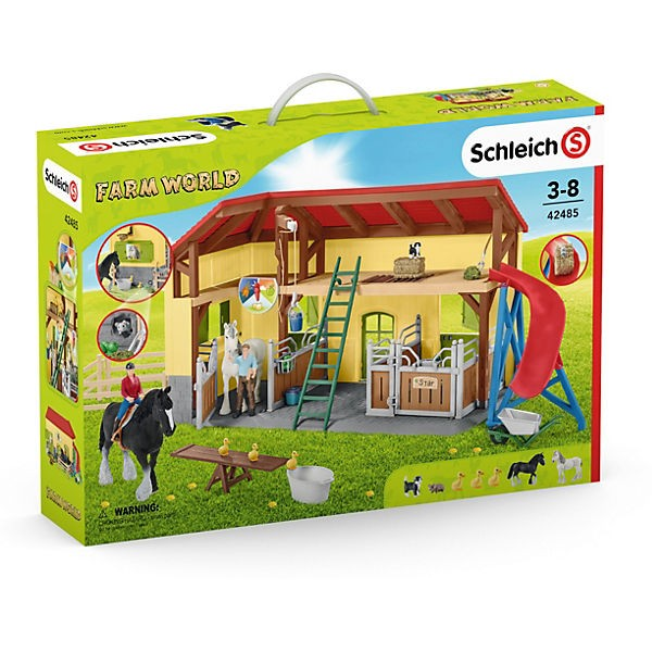 Schleich 42485 Farm World: Pferdestall