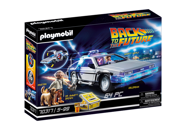 Playmobil Back to the Future DeLorean Art. 70317