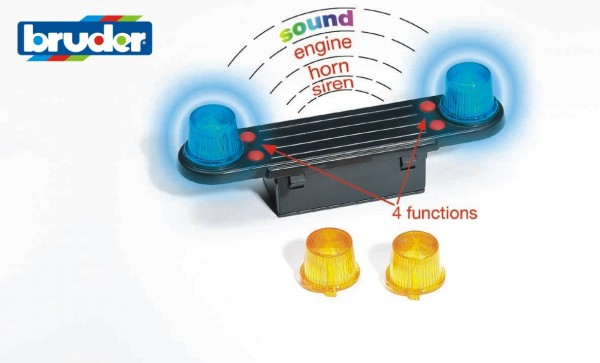 Bruder 02801 Light and Sound Modul (trucks)