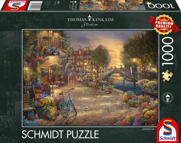 Puzzle: Amsterdam, 1000Teile