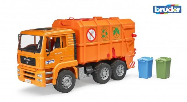 Bruder 02760 MAN TGA Müll-LKW