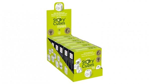 Story Cubes Geschichtenwürfel Voyages Hell grün