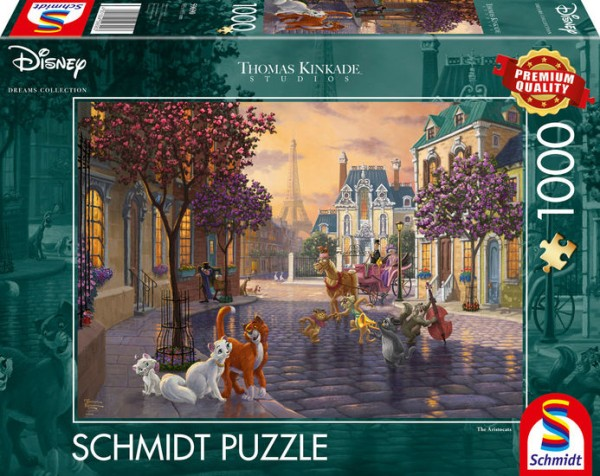 Puzzle: The Aristocats, 1000Teile