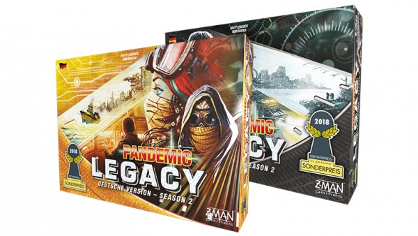 Pandemic Legacy Season 2 Schw