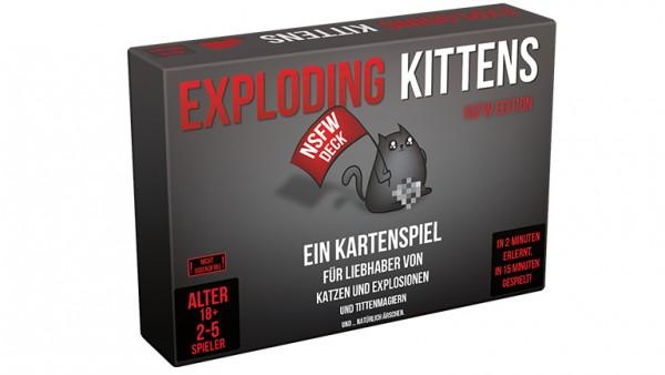 Exploding Kittens Nsfw Editio