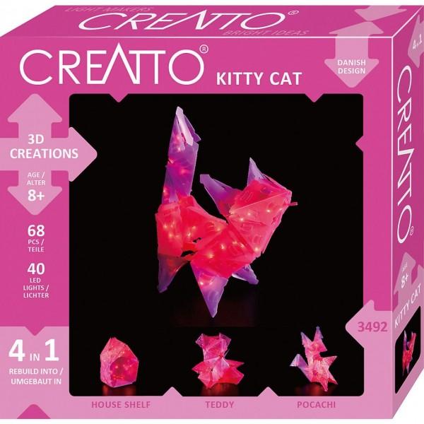 CREATTO Katze 68 Teile