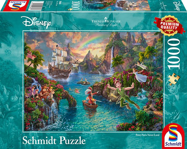 Puzzle: Peter Pan, 1000 Teile