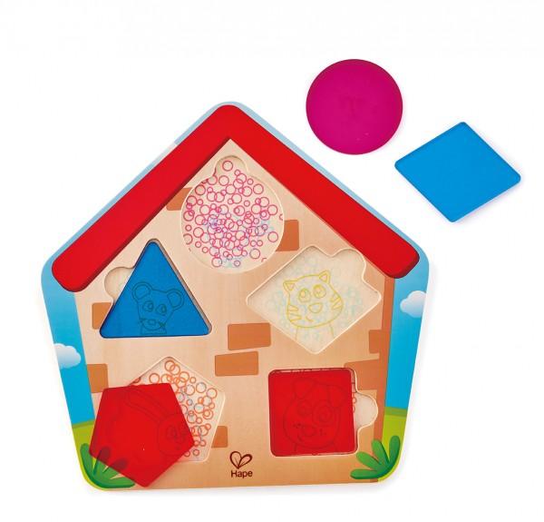 Haus-Suchpuzzle