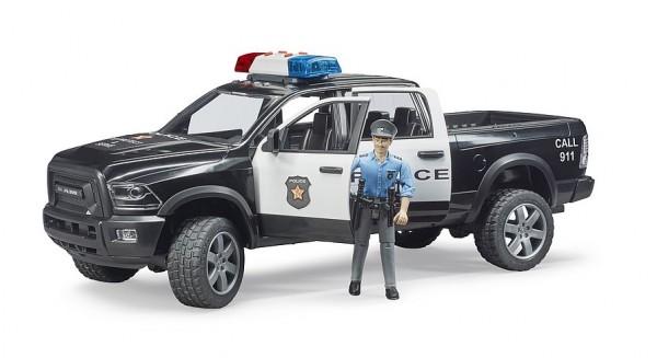 Bruder 2505 RAM 2500 Polizei Pickup mit Polizist
