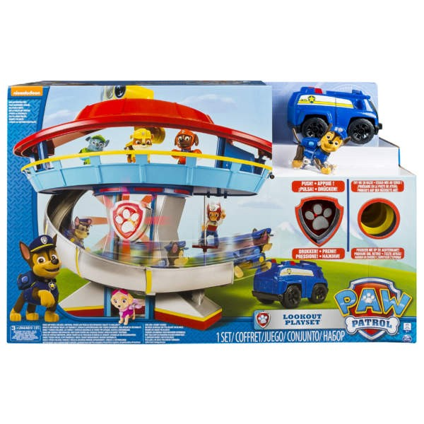 Paw Patrol Hauptquartier Lookout Tower